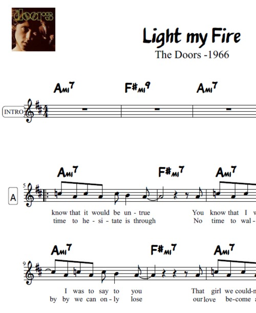 Product picture Light My Fire Transposable Lead Sheet