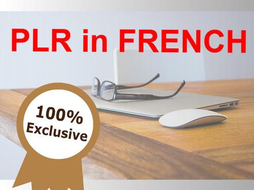 Product picture PLR in French - Les soins du visage pour les hommes
